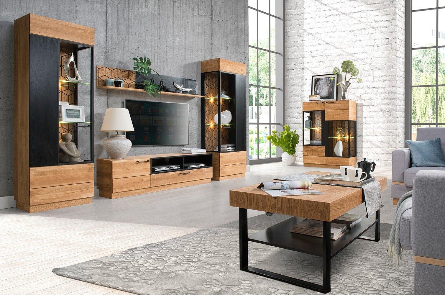 87d28d37762f Nádherný masívny sektorový nábytok Mosaic je stelesnením luxusu a moderného  dizajnu. Poznávacím znamením kolekcie Mosaic je výrazná kresba dreva