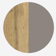 dub wotan - šedý bazalt