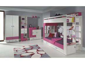 Detská izba Komi A ružová