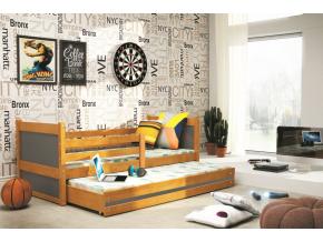 Detská posteľ RICO 2 / JELŠA 200x90