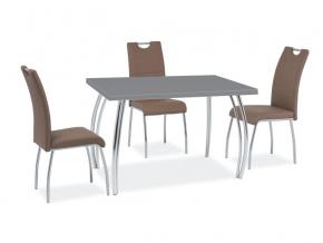 moderny sivy jedalensky stol SK 2
